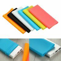 Silicone Cover For Xiaomi Power Bank 2 10000mAh Rubber Case Protection Non Slip