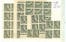 YVERT N° 405 x 50 timbres France type Mercure neufs sans charnières