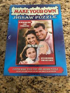 Jigsaw Puzzle Making Kit Make Your Own Puzzle CD Custom Design 88 Pc TDC Games