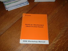 GENUINE KIA M6GF2  MANUAL TRANSAXLE WORKSHOP MANUAL.2006