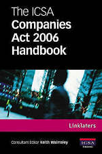 The ICSA Companies Act 2006 Handbook, Linklaters & Paines, Used; Good Book