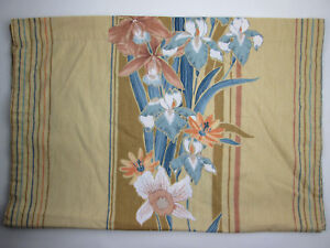 """Screen Printed Orchids Single Drapery Panel by 5th Avenue Designs 26"""" by 72"""""""