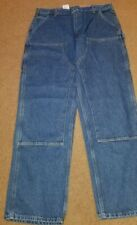 Carhartt Men's Double front Logger Washed Denim Dungaree Pant - 38 x 34 New NWT