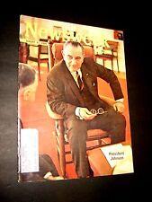 Newsweek August 31 1964 8/64 President Lyndon Johnson Demokraten