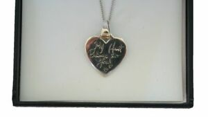 "Stering Silver My Heart  Belongs To You Pendant & 18"" Chain Boxed was £25.00"