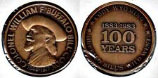 Medal: Cody, Wyoming Centennial: Buffalo Bill's Wild West