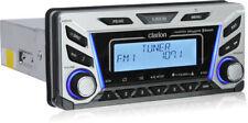 Clarion M606 1.8-DIN Bluetooth SiriusXM Ready Marine Stereo w/ Multi-Zone RCVR
