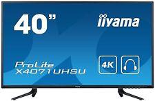 Iiyama ProLite X4071UHSU-B1 40 Zoll LED-Monitor - Schwarz