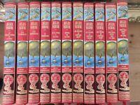 JULES VERNE-11 volumes édition luxe + une livre secrète  Michel STROGOFF tbe #LL