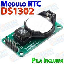 DS1302 RTC modulo reloj con pila Arduino micro pic bateria tiempo real