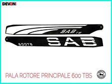 elicottero a scoppio telecomandato rc Sab PALE ROTORE PRINCIPALE Align t rex 600