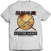 9164w Hattori Hanzo T-Shirt Kill Bill Swords Crafting Pulp Fiction Death Proof