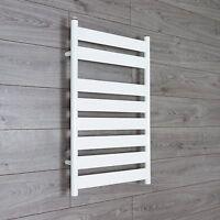 500mm wide Designer Flat Panel Chrome Heated Towel Rail Bathroom Radiator
