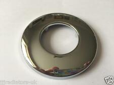 CHROME BRASS PLATED  32mm WASTE PIPE WALL FLANGE EXIT HOLE COVER HIGH QUALITY