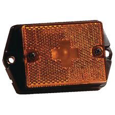 Wesbar 203131 Boat/Utility Trailer Amber Side Marker Light With Reflex Lens