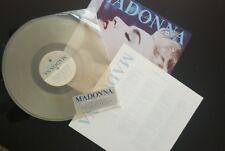 """Madonna Mega Raro Hong Kong Azul verdadero álbum 12"""" Edición Limitada Vinilo Transparente NUEVO"""