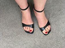 Ravel black wedge sandals, EU 36, UK 3