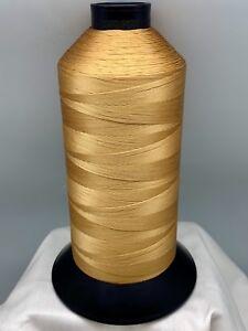 Nylon T70 16 oz Spool Fox Tan Sewing Thread # 69 Bonded Made In USA N316