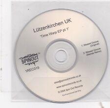 Lutzenkirchen UK-Time Warp EP pt 1 promo cd single