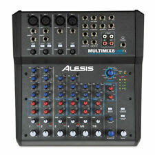Alesis Multimix 8 USB FX - Home Recording Studio Mixer With Audio Interface