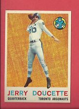 1959 TOPPS CFL FOOTBALL # 66 JERRY DOUCETTE