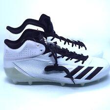 best website 0b810 d6327 adidas Adizero 5-star 6.0 Mid Football Cleats White Navy Blue Sz 13 ( B42485