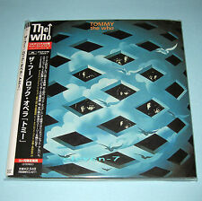 THE WHO Tommy Japan mini lp CD  REMASTERED 1st Issue target OBI