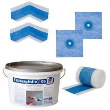 Dichtset bluetec Dichtband Flüssigfolie BH5 Abdichtset Bad Dusche Sanitär Küche