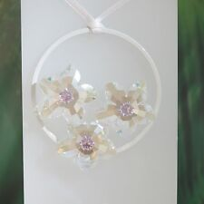 Swarovski Crystal Blossom Ornament 1163957.New In Box.