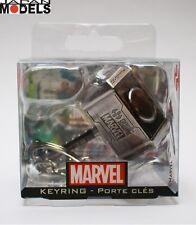 Portachiavi Keychain Keyring THOR HAMMER MARTELLO Marvel Metallo Semic