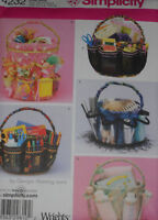 Bucket Covers Organizers Simplicity 4232 Sewing Pattern
