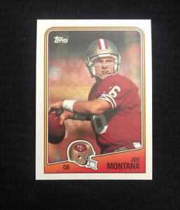 1988 Joe Montana Topps Football Card #38 🔥 Beautiful! (NM or Better) Hi-Grade🔥