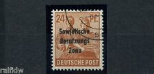 SBZ 24 Pfg. Maschinenaufdruck 1948 normaler + Blinddruck geprüft (S9279)