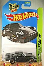 2015 Hot Wheels #220 Hw Workshop-Garage Porsche 934 Turbo Rsr Black w/GoldLaceSp