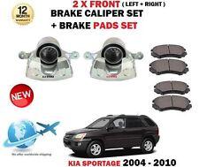 für Kia Sportage 2.0 CRDi 2.7 2.0i 2004-2010 2x Bremssattel vorne + Belag Set