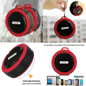Portable Wireless BLUETOOTH Shower SPEAKER Waterproof Stereo Sound For ALL PHONE