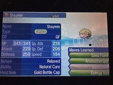 Pokemon Sun Moon 6IV Event GF Shaymin Pokemon Guide with Gold Bottle Cap