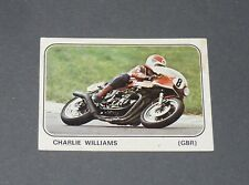 N°226 CHARLIE WILLIAMS GREAT BRITAIN ALBUM PANINI MOTO SPORT 1979