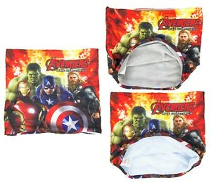 Official Marvel Avengers Fleece Lined Snood Neck Gaiter Scarf Set With Face Mask