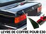 REAR TRUNK LIP SPOILER BOOT TRIM for BMW E30 3 SERIES 1982-1991 324d M M3 ALPINA