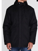 GELERT Highland Parka Hodded Black Mens Size UK S *REF108