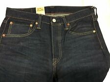 New LEVI'S 501 36-32 Button Fly Original Fit Straight Leg Jeans 0501-1963 NWT