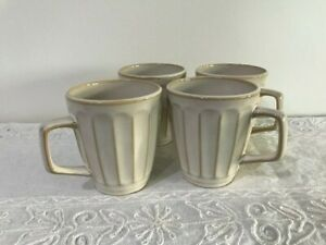 Sango Society White mugs set of 4