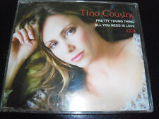 Tina Cousins Pretty Young Thing/All You Need Is Love  Rare Australian CD