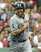 KEVIN YOUKILIS CHICAGO WHITE SOX SIGNED 8x10 PICTURE *PROOF 4