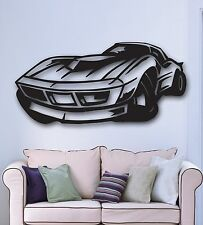 Wall Stickers Vinyl Decal Sports Muscle Car Racing Garage Decor (ig897)
