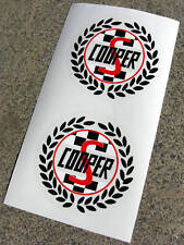 Mini Cooper S Classic 'Laurel' side decals stickers