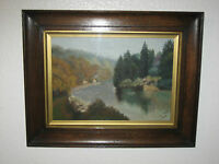 J. Dalton Original Oil Landscape Painting, Signed And Framed - 1922