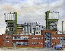 Kellingley Colliery  1957 - Present - Ltd Ed Print - Pit Pics - Coal Mining