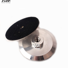 """4"""" Aluninum Backing Plate Backer Pad M14 or 5/8 for Angle Grinder Polishing Pads"""
